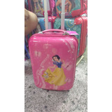 Maleta Mochila Princesas - Policarbonato Disney Original