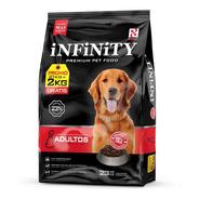 Alimento Perros Adultos Infinity Premium 21 Kg + 2 Kg Gratis