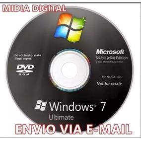 Cd Formatação Windows 7 Ultimate 64bits + Ativador Original