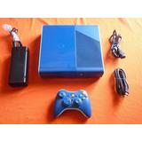 Xbox 360 Slim E Edicion Especial Azul