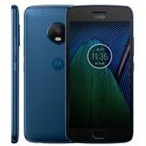 Smartphone Moto G5 Plus Xt1683 Azul - Dual Chip, 4g