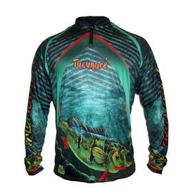 Camisa De Pesca Tucunaré Com Fator Uv