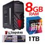 Core I7 7ta Generacion D.d 1000 8 G. De Ram Monitor De 20