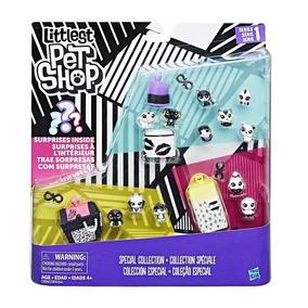 Littlest Pet Shop Colección Blanco Y Negro Pet Pack
