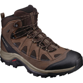 Bota Masculina Salomon - Authentic Ltr Gtx M Marrón - Hiking