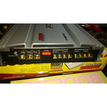 Booster Modulo 2000 Watts High Performance 4x500w Crossover