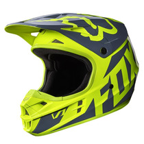 Casco Fox V1 Race Amarillo 2017 Motocross Atv Moto Talla L