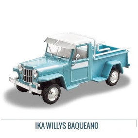 Colección Jeep Ika Willys Pick-up Baqueano 1959 Ixo