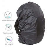 Forro Protector Impermeable Morral Ajustable Rain Cover