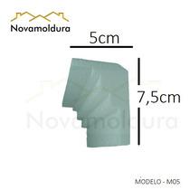 Moldura Teto Isopor Substitui Gesso Promoção Sanca Eps M05