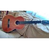 Guitarra Acustica Tizona Excelente Estado Con Su Funda