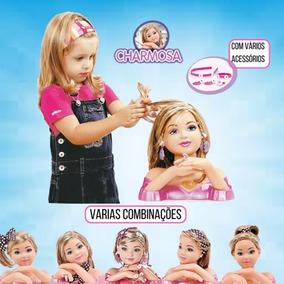 Boneca Charmosa Faça Penteados Com Acessórios - Cotiplás