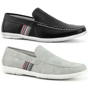 Mocassim Sapatenis Masculino Casual Kit 2 Pares Blackfriday