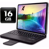 Tablet 10 Android 16gb Netbook Hd Funda Teclado + Templado