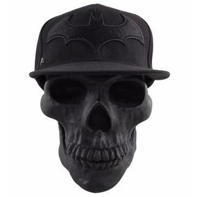 Gorra Logo Batman Arkham Black C/broche Original Dc $260