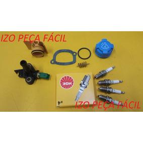 Vela+sensor Temp+tampa Oleo/reserv+antichama+anel Palio Fire