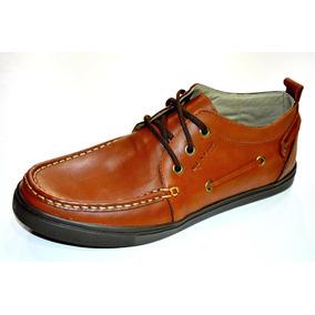 Zapato Dunlop Cuero Rolling Stone Hombre Original Marron