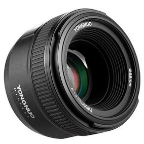 Lente Yongnuo Yn50mm-f18n 50mm F1.8n Auto Foco P/ Nikon Nfe
