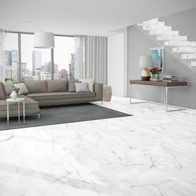 Porcelanato 72x72 Rectificado Carrara Calacatta Satinado 1°