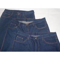 Pantalon De Blue Jean Triple Costura Industrial Nuevos.