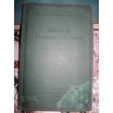 Codigo De Procedimiento Penal De Provinca Bs As 1946 Jofre