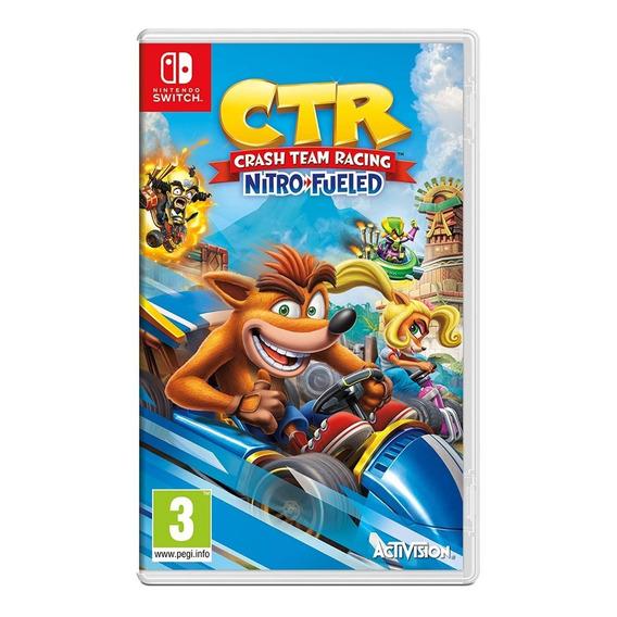 Crash Team Racing Nitro Fueled Nintendo Switch Nuevo Fisico