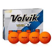 Pelotas Golf Vivid Xt Volvik Naranja