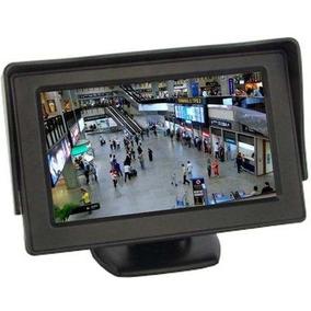 Tela 4.3 Lcd Monitor Veicular Video P/camera Ré Dvd Xbox Ps4