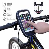 Estuche Soporte Bicicleta Moto Impermeable Celulares Y Gps