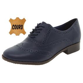 Sapato Feminino Oxford Marinho Bottero - 272901