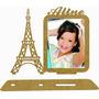 60 Porta Retrato Torre Eiffel Mdf Com Nome Festa 15 Anos