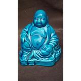 Buda Ceramica Esmaltada Turquesa