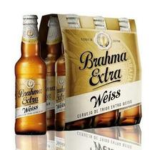 Brahma Extra Weiss Pack Com 6 Garrafas De 355ml