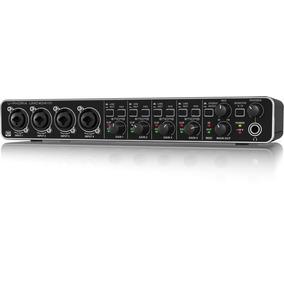 Interface Audio Behringer Umc404 Usb Placa De Som Original