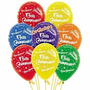 Globos Estampado Feliz Cumpleaños Tienda Fisica
