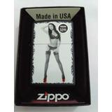 Encendedor Zippo Red Shoe Girl, Serie 1 N°9