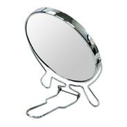 Espelho De Mesa 16cm Para Maquiagem Dupla Face C/aumento