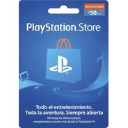 Tarjeta Fisica Psn 50 Usd Gift Card Ps4 Argentina Sevengamer