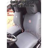 Capa Banco Couro Courvi Fiat Palio Way 2014 Fire Economy 1.0