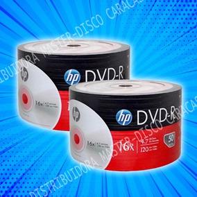 Dvd-r Virgen Hp 4.7gb Torre De Dvd Precio X Torre De 50