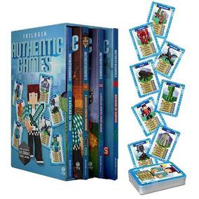 Box - Trilogia Authenticgames - 3 Livros