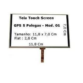 Tela Touch Gps Foston Fs 513 Dt De 5 Pol Origina