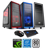 Pc Gamer Intel Pentium G4560 + Gtx 1050 + 8gb Ddr4 + 1tb