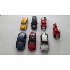 Miniaturas De Carro Em Metal Kit Com 7 Peças Variados