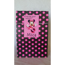 Bolsas Golosineras Personalizadas Minnie Souvenir Cumple