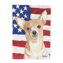 Usa La Bandera Americana De Chihuahua Bandera Lienzo Tamaño