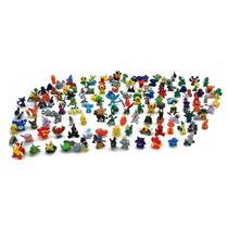 Pokemon Go Lote 100 Figuras Super Coleccion Al Azar 2 A 3cm