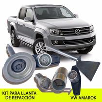 Llanta De Refacción Vw Amarok Kit Seguridad - Envío Gratis !