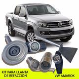 Llanta De Refacción Vw Amarok Kit Seguridad - Promoción!