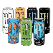 Monster Energy 473cc (24 Unidades) - Combínalas Como Quieras